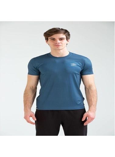Umbro Broom Basic Tf-0041 Indıgo Erkek Tişört İndigo